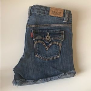 Levi's Jean Short Shorts